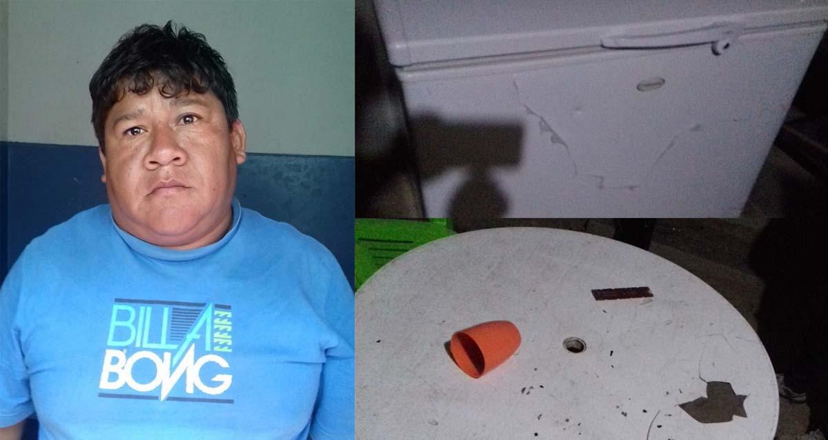 955729078 ERP/Sullana. Un sujeto acusado de maltratar física y sicológicamente a su  pareja, fue capturado por personal de la comisaría PNP El Obrero en el  sector de ...