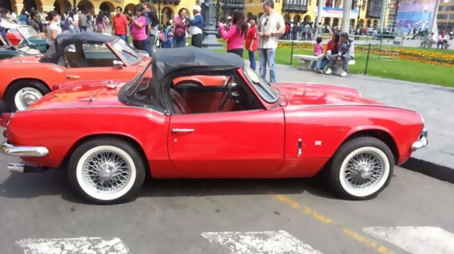 15b4796a9 Harán exposición de autos clásicos y antiguos este domingo en Sullana