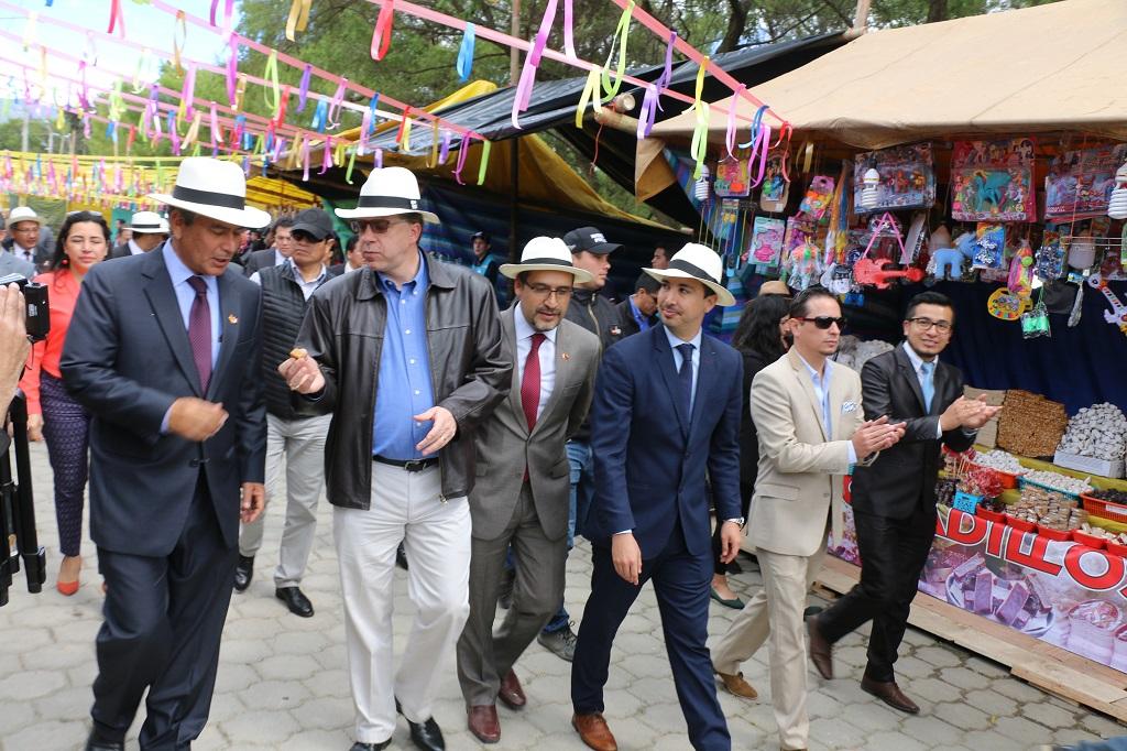 Inauguration of Feria de Loja - Ecuador