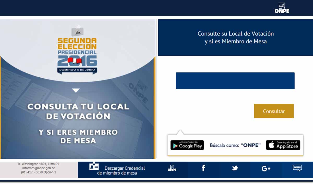 conoce tu local de votacion