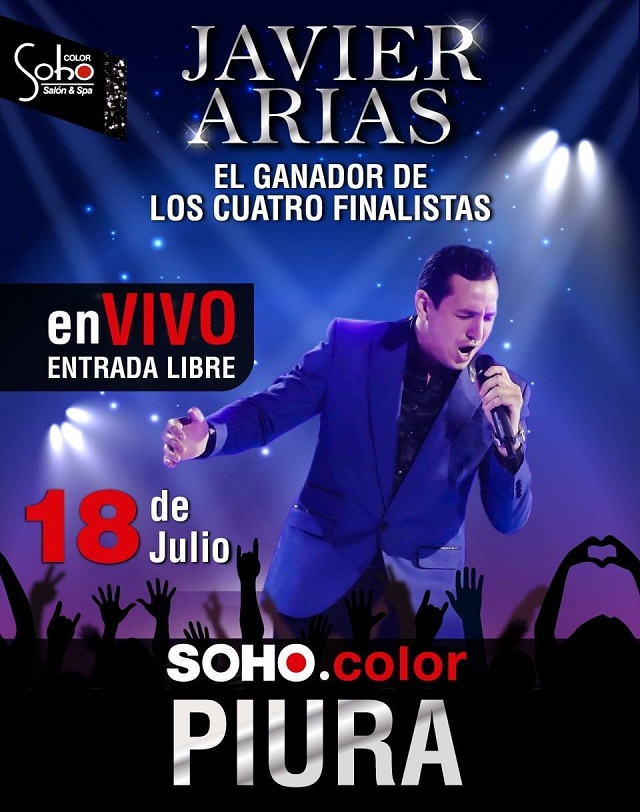 Javier Arias Evento Soho