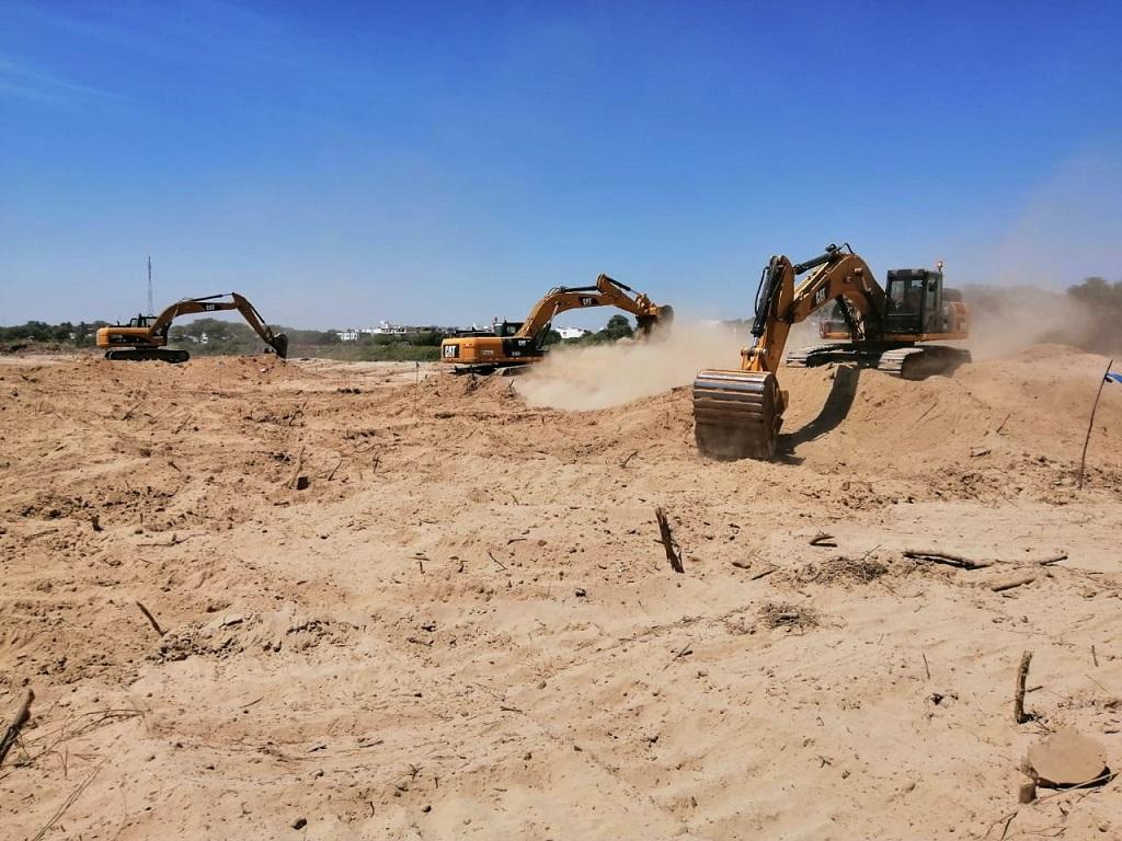 Avanzan trabajos en tramo I de defensas ribereñas del río Piura - El Regional