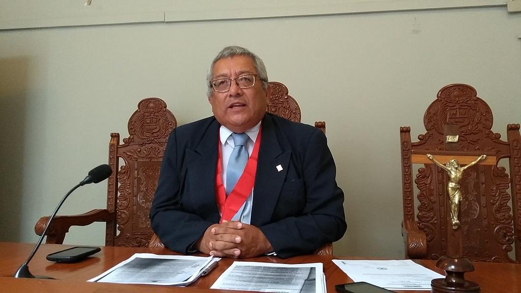 Juez Superior Jaime Lora Peralta niega haber denunciado a jueces de Sullana - El Regional