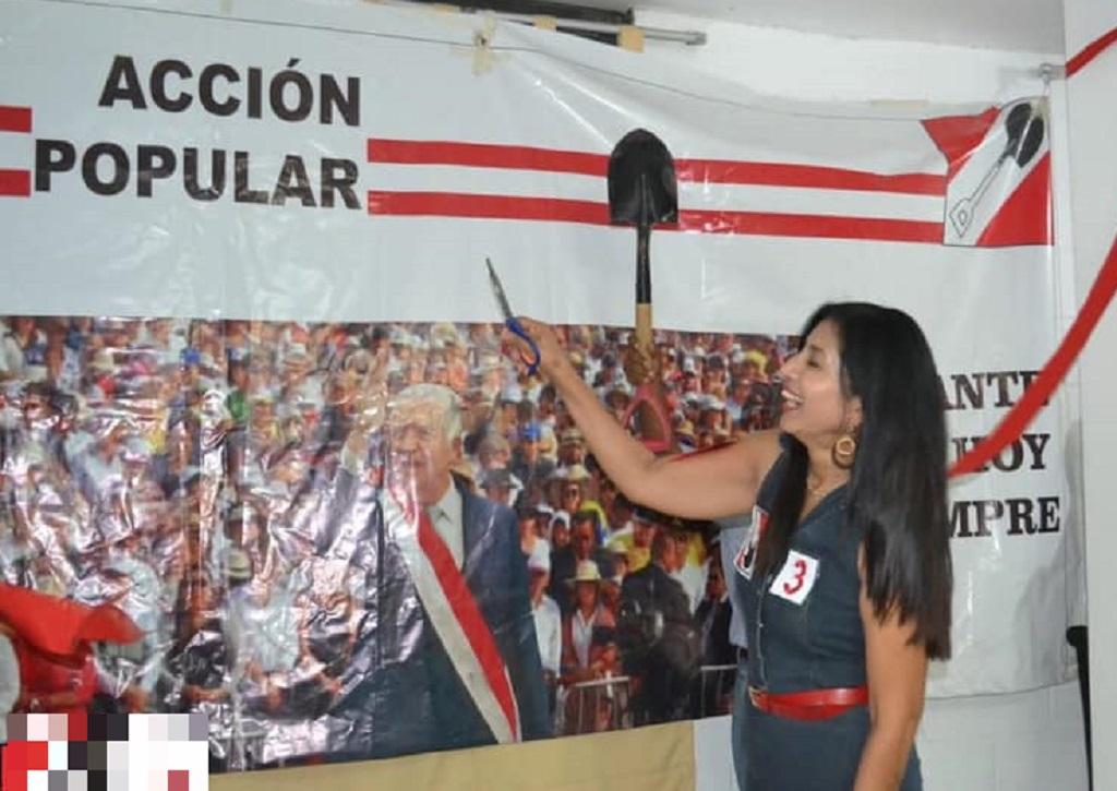 Piura: candidata de Acción Popular Maritza Gil Ordinola abrió local de campaña - El Regional