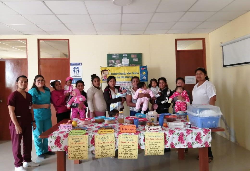 Chulucanas: Realizan sesiones demostrativas de preparación de alimentos para combatir anemia y desnutrición - El Regional