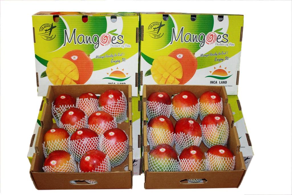 Mangos exportaciones