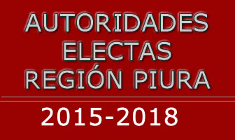 Autoridades electas Piura